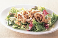 Squid and Tuna Salad