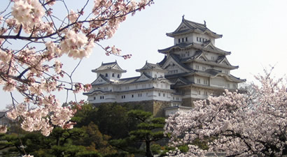 Photo from Himeji Castle, UNESCO World Heritage Site in Japan