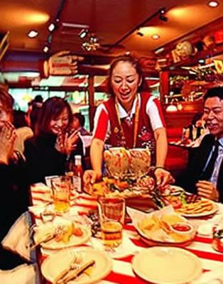 t g i friday s sakuragicho casual american restaurant at mm21