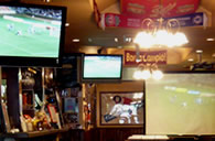 Live Football on Large Screens