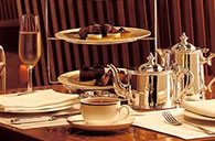 The famous Peninsula Traditional Afternoon Tea