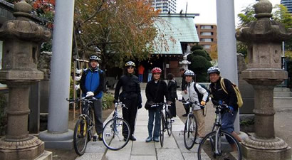 Tokyo Great Cycling Tour Guided Bike Tour Of Tokyo